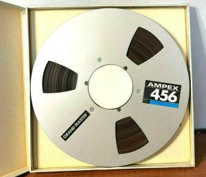 "Ampex 456 Grand Master Audio Tape 456-17311J 1/4"" x 2500 Reel Tape"
