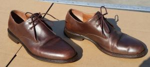 Esquivel Handmade Classic Brown Leather Men's Shoes Size 11 1/2
