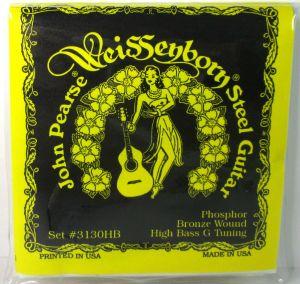 John Pearse 3130HB Guitar Strings Phosph Bronze High Bass G Tuning .015-.052