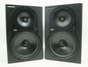 PAIR of Mackie HR824 High Resolution Studio Monitors Speakers #584