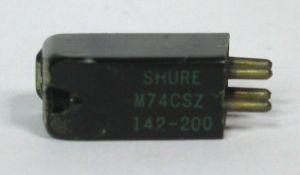 Shure M74CSZ 142-200 Phonograph Turntable Cartridge Head