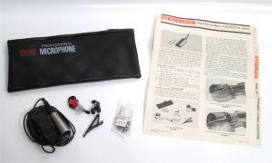 Shure SM17 SM-17 Miniature Dynamic Omnidirectional Microphone Mic