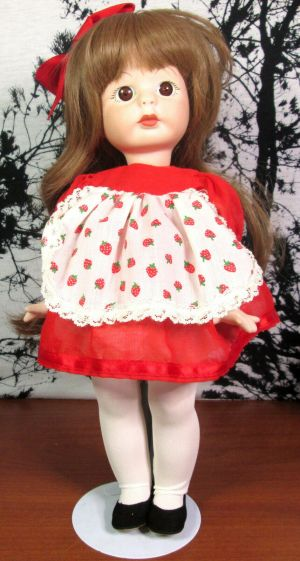 """Vintage Marjorie Spangler Porcelain Doll Jennifer 15"""" inch 1981"""