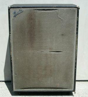 Fender BASSMAN 100 Cab 4-Speaker Enclosure – SINGLE EMPTY CAB