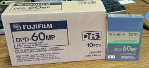 Lot of 10 NEW Fujifilm DPD-60MP Digital Audio Cassette Tapes DTRS SEALED