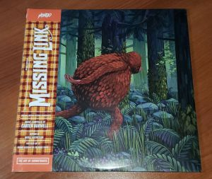 New MISSING LINK Movie Motion Picture Soundtrack Album 2XLP 2-Disc Vinyl Record