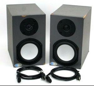 Pair of Blue Sky SAT 5 MK II Bi-amplified Active Monitor Speakers