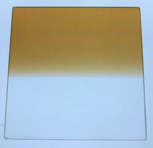 TIFFEN 6×6 CLEAR TOBACCO 2 GLASS SQUARE CAMERA FILTER