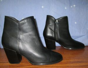 Thursday Boots Company Uptown Black Booties Size 10