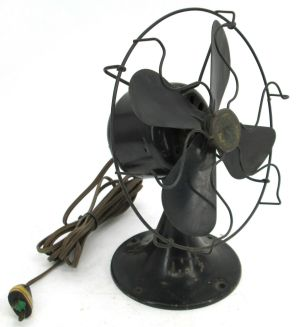 "Vintage 1930 Graybar Electric 27X840 8"" Inch Non-Oscillating Desktop Fan"