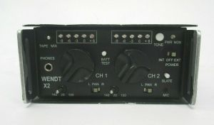 WENDT X2 NGS-X2 PORTABLE 2 CHANNEL MIXER