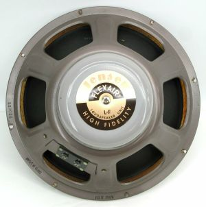 "Jensen P15 LF FLEXAIR IMPERIAL High Fidelity Speaker 16-Ohm 15"" Woofer"