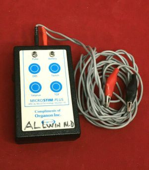 Organon Microstim Plus by Neurotechnology Muscle Stimulator