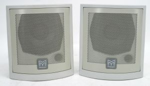 Pair of Martin Audio C115 Compact Surface Mounted Speakers 8 OHM