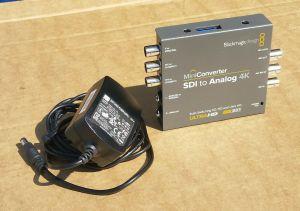 Blackmagic Design Mini Converter SDI to Analog 4K