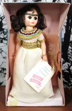 "Madame Alexander Cleopatra 1315 11"" Doll In Original Box w/ Tag"