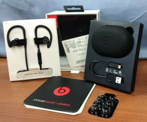 OEM Beats by Dr Dre Powerbeats3 Wireless In-Ear Hook Headphones Black