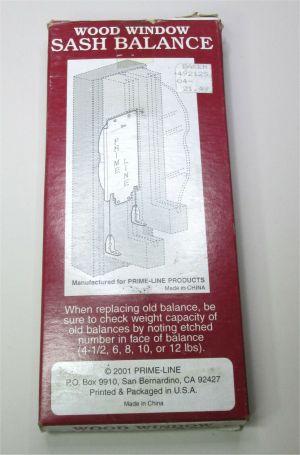 Prime-Line Products Wood Window Sash Balance 6 LB