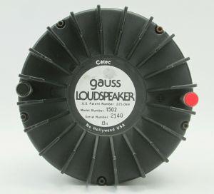 SINGLE – Cetec Gauss 1502 Bullet Tweeter 8-Ohm Driver Loudspeaker