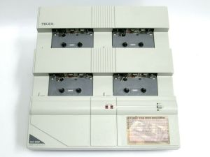 Telex ACC-4000 Slave Stereo Commercial Cassette Tape Duplicator – SOLD AS IS