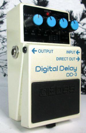 Boss DD-33 Digital Delay Guitar Effects Pedal