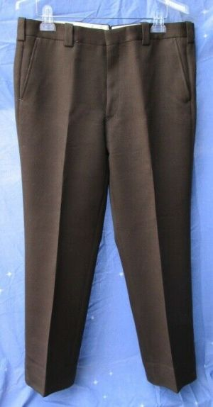 Carroll & Co Suit Pants Slacks Trousers Dress Pants Brown #79  Wool Fully Lined