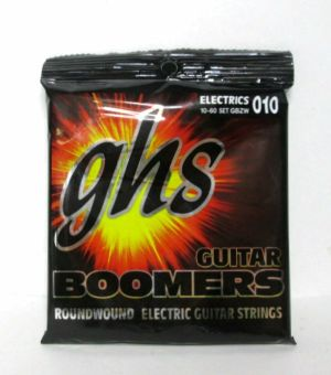 GHS GBZW 010 10-60 Set Boomers Roundwound Electric Guitar Strings