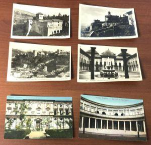 Lot 24 Vtg Granada Alhambra Spain Black White Color Postcards Roisin Foto