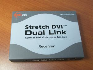 Opticis M1-2R2VI-DU Stretch DVI Dual Link Optical Eztension Module Transmitter 2
