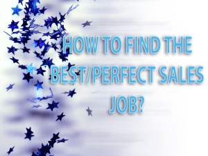 best sales job