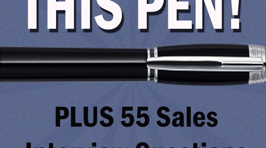 Sell Me This Pen!  Plus 55 Sales Interview Questions and Answers Kindle Book