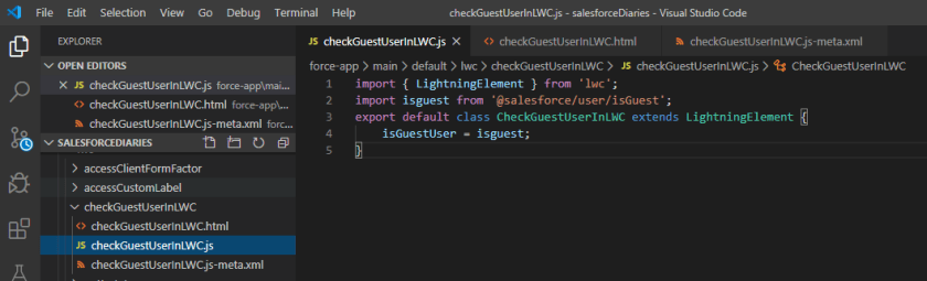 How to check current user is community guest user in Lightning Web Component?