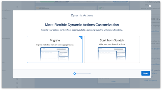 Try Dynamic Actions in App Builder