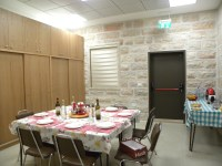 sisters' dining room/ refettorio suore