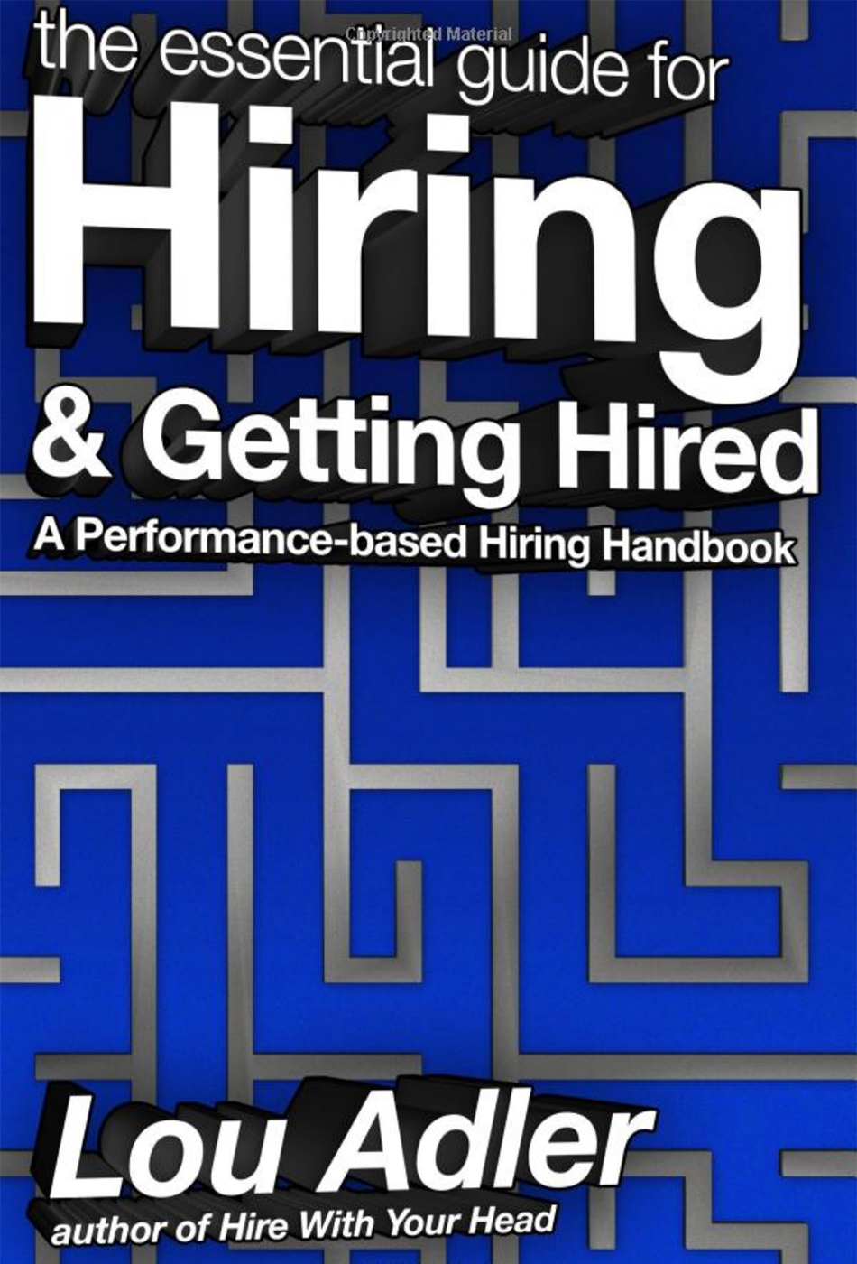 adler hiring and getting hired cr