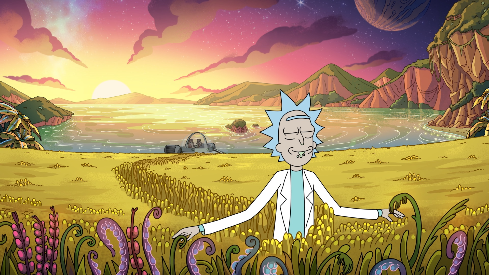 Rick and Morty The Old Man and The Seat