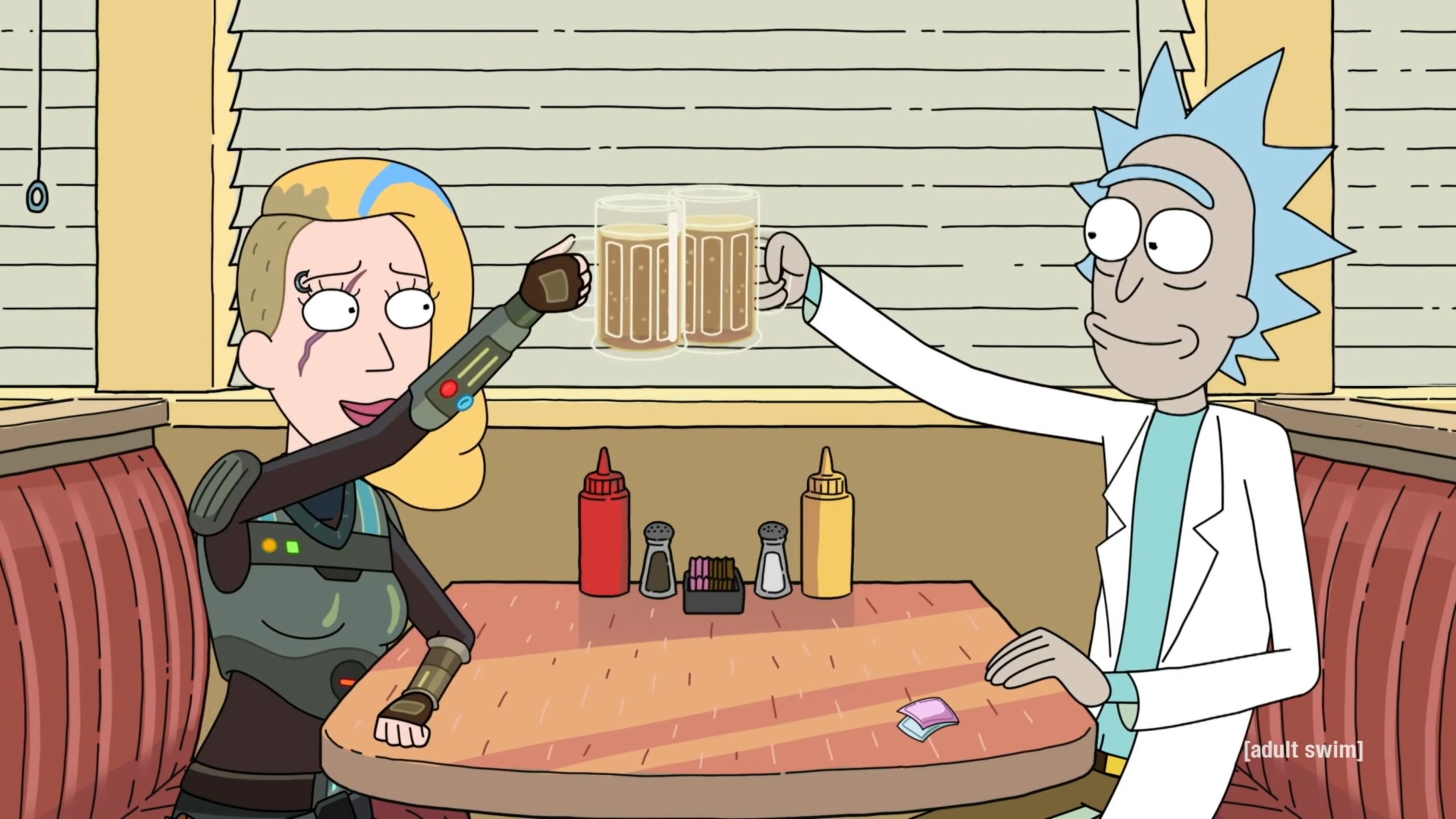 Rick and Morty clone Space Beth