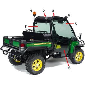 Crossover Gator™ Utility Vehicles   XUV855D Power Steering   John Deere US