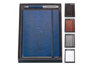 Boxed Journal with Name or Initials is Great Holiday Gift