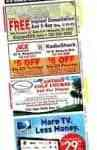 Coupons printed on receipts have a redemption rate that's three times higher than that of direct mail & newspaper coupons