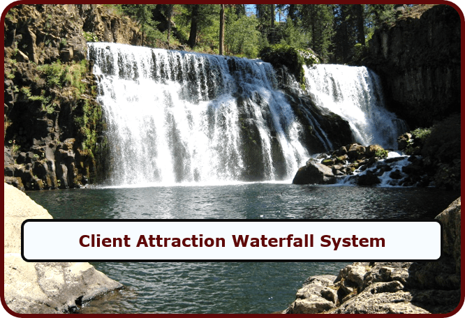 Client Attraction Waterfall System