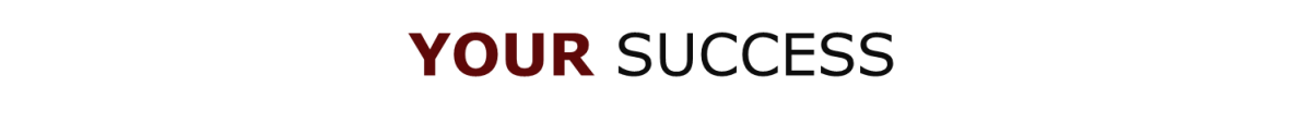 Your success page title