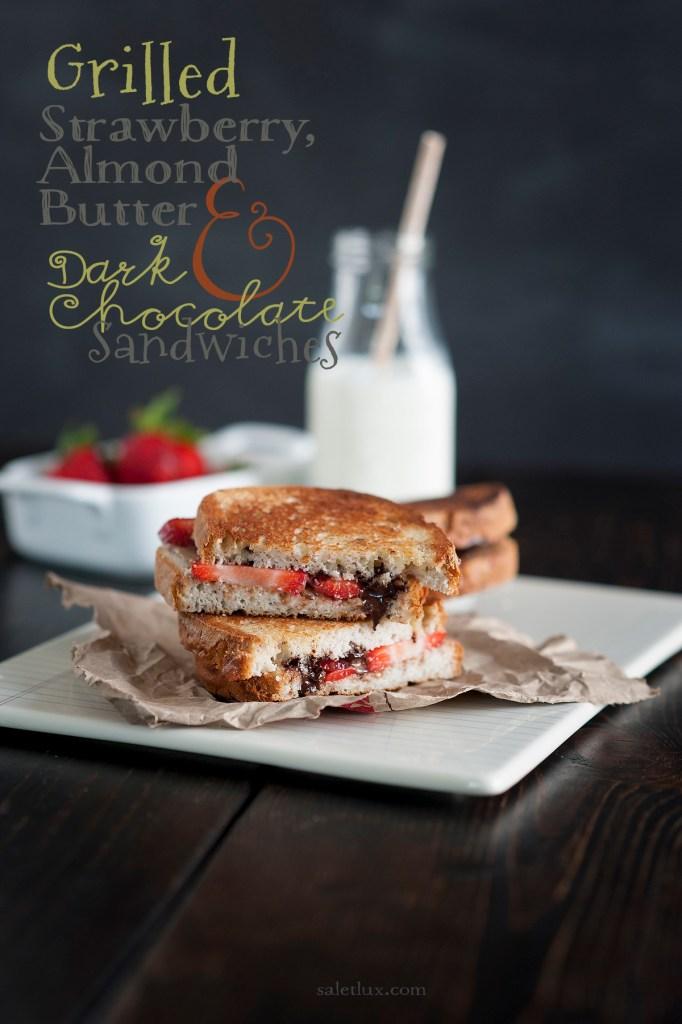 """A-B-C"" Gluten-Free Grilled Sandwich"