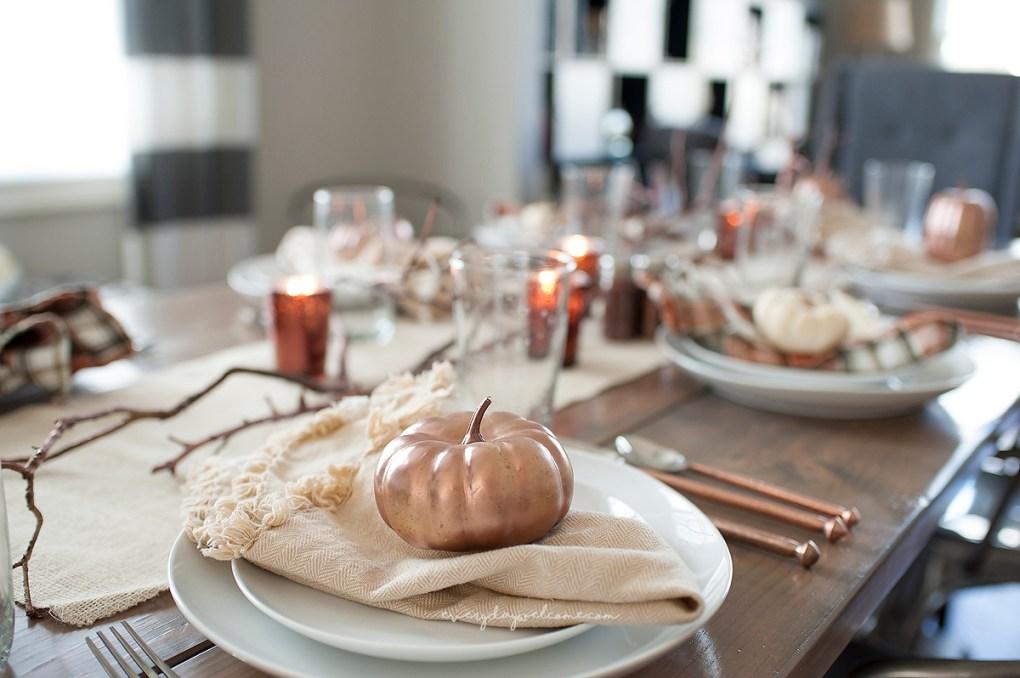 Thanksgiving centerpiece craft