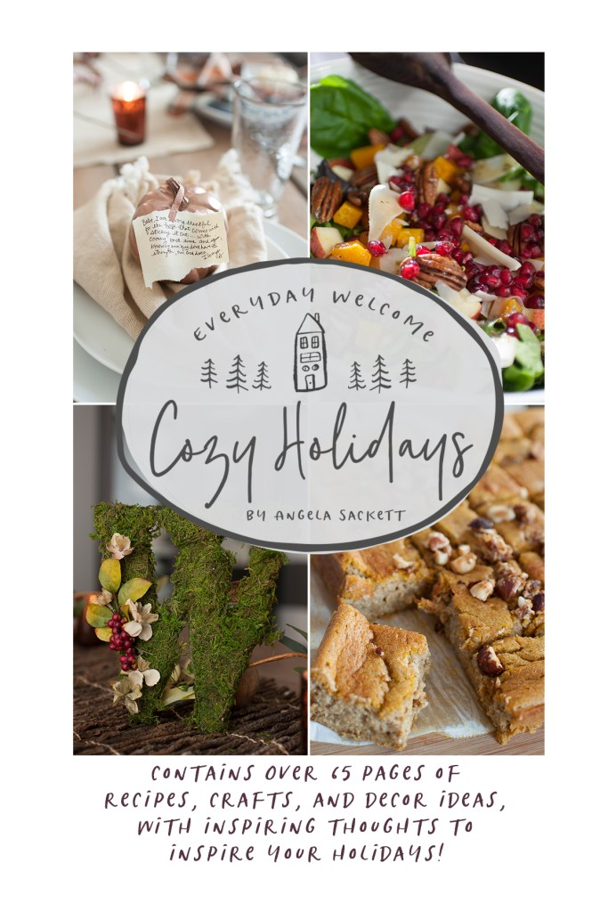 Everyday Welcome: Cozy Holidays