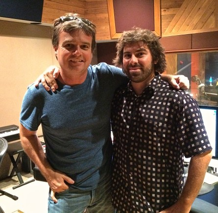"""Alan Sanderson & Sal Filipelli mixing """"This Day In Music History"""""""