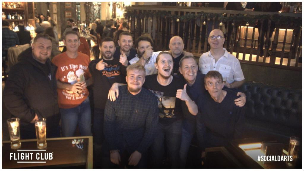 SGL Xmas Do At Flight Club Manchester