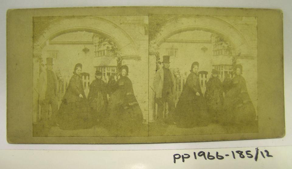 Ordsall Hall 1830s