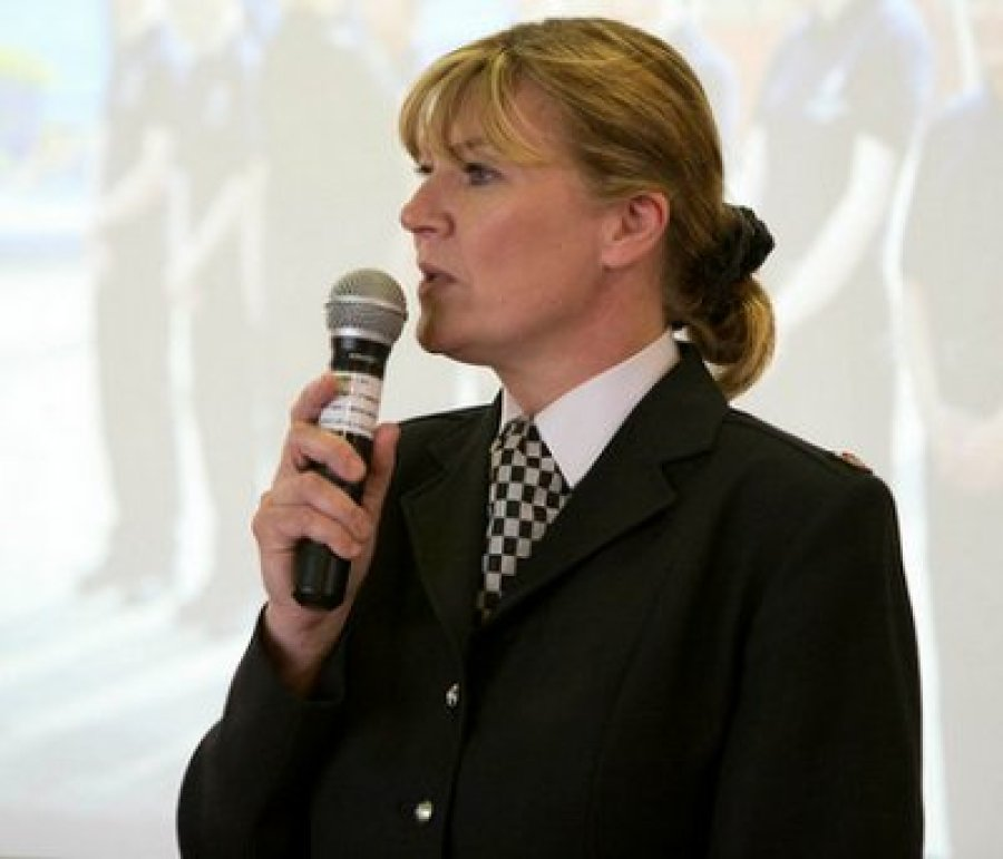 Chief Superintendent Zoe Sheard