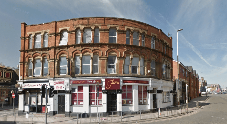 The former Brown Bull Hotel as it is today - © Google